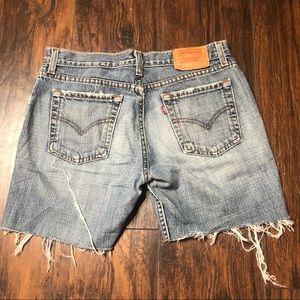Levi's Shorts - 518 Levi's cut off